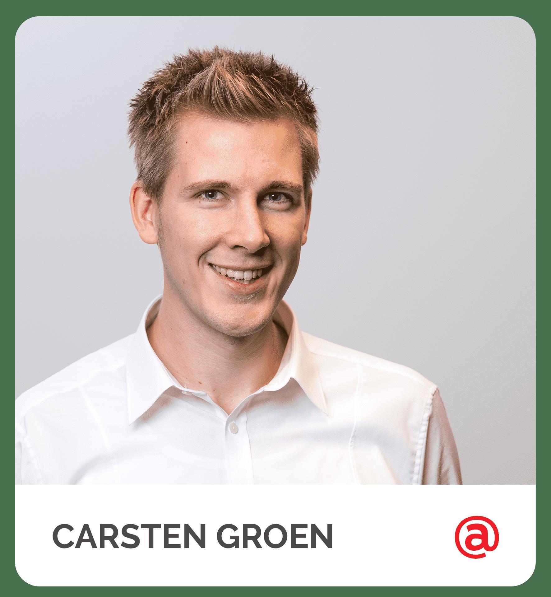 Technischer Support_Carsten Groen